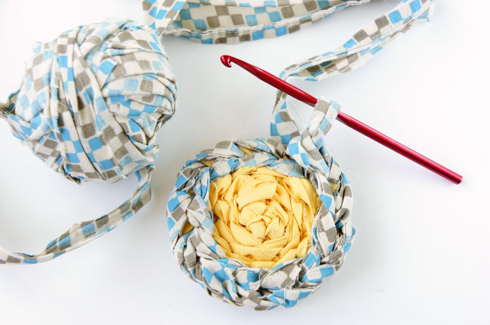 Crochet Rag Rug : DIY: crocheted rag rug part 3