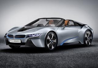 BMW, i8 Spyder Concept
