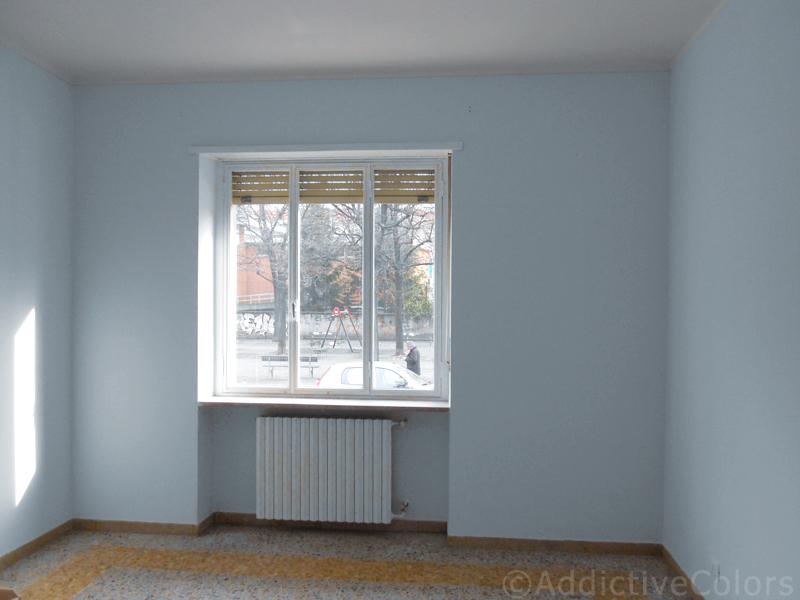 Colori Pareti Azzurro : Colori pareti azzurro: colori pareti camerette. soggiorno grigio e