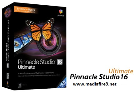 Pinnacle Studio 16 Ultimate v16.0 + keyGEN  Mediafire Downloads | 1.8GB