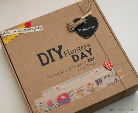 DIY Hunters Day: El Packaging de Bienvenida