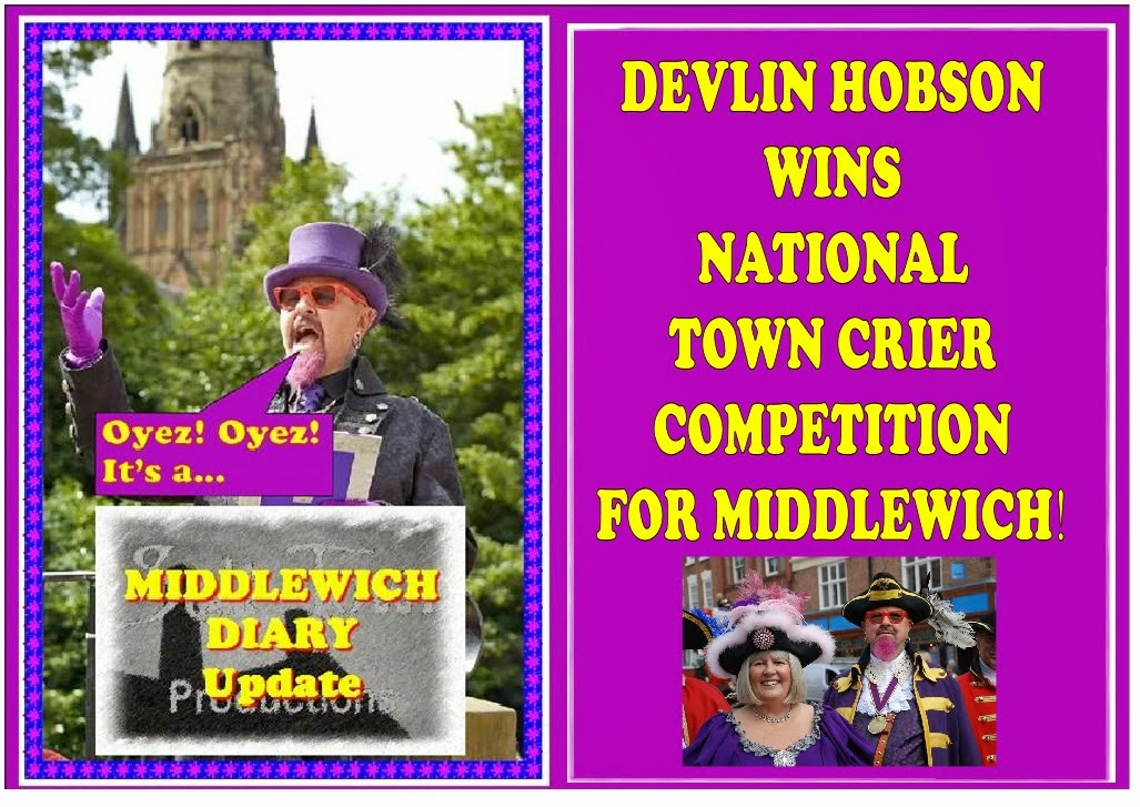 DEVLIN HOBSON WINS NATIONAL TOWN CRIER COMPETITIONS IN HASTINGS AND BIDDULPH!