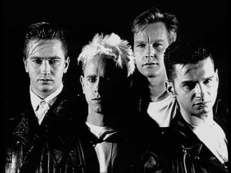 Depeche Mode - Never Let Me Down Again + Letra