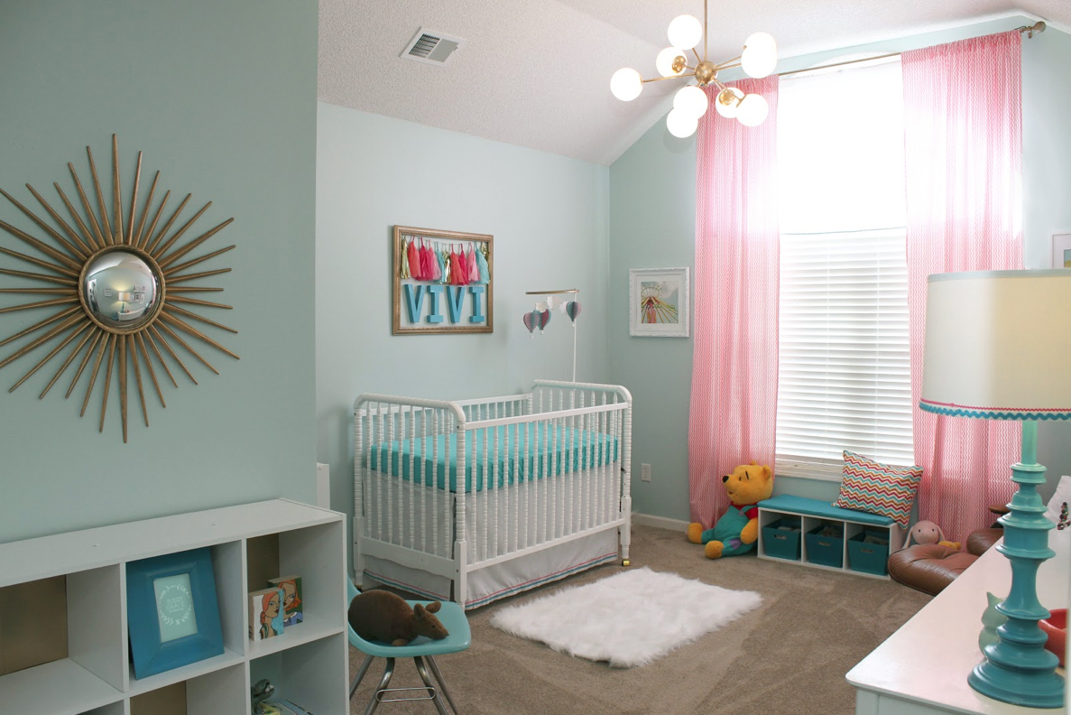 Diy Post Mod Baby Nursery