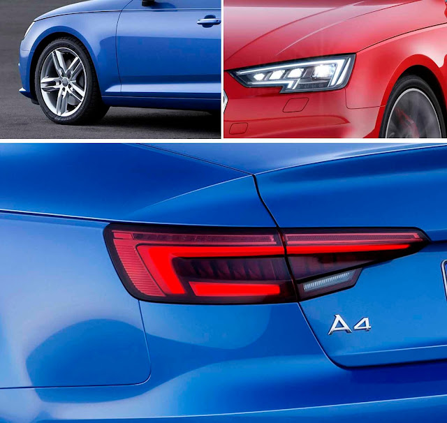 Novo Audi A4 2016 - design