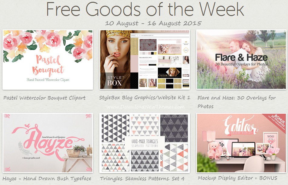 Grab this Weeks Freebies