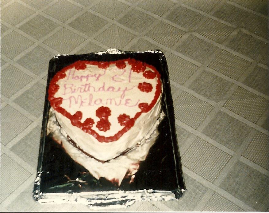 Happy Birthday Melanie Cake