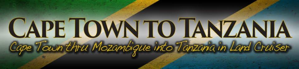 Cape Town To Tanzania