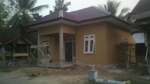 Gambar Kantor Desa Depan Samping Gampong Teubeng Bayu Kec. Pidie Kab. Pidie-Aceh.