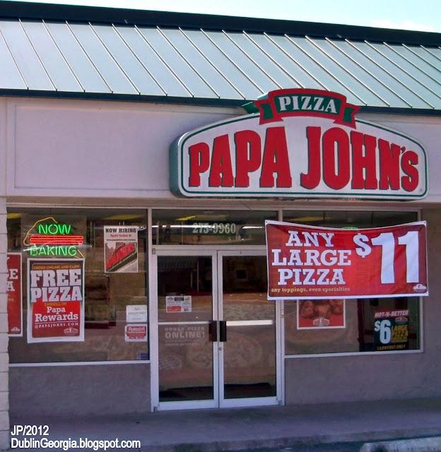 Papa john s pizza dublin georgia hillcrest pkwy papa john s pizza