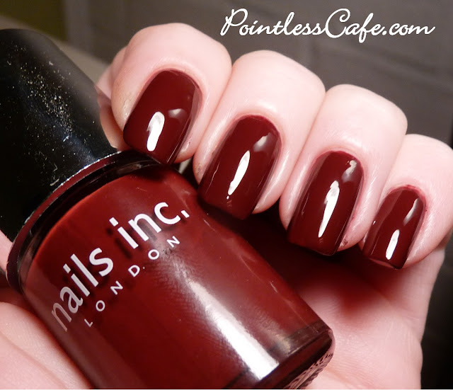 Nails Inc Autumn Winter 2011 St Pancras