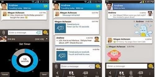 Mengatasi DP BBM kontak dan Teman Tidak Muncul Di Android