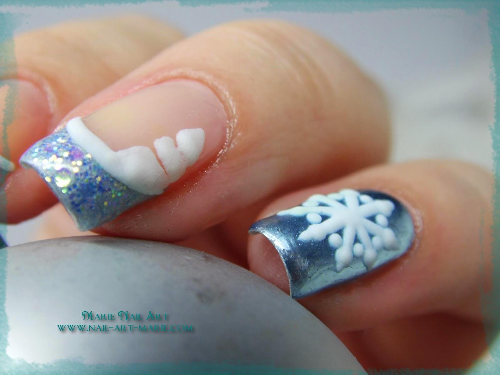 nail art givré nouvel an3