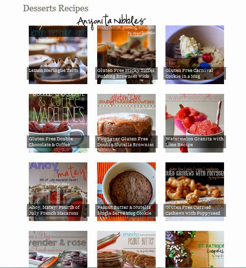 Anyonita nibbles gluten free recipes how to make a beautiful category view of the visual recipe index every food blogger needs this recipe index forumfinder Choice Image