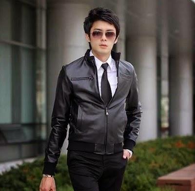 Jaket Kulit Korea Murah Jaket Semi Kulit Korea Style