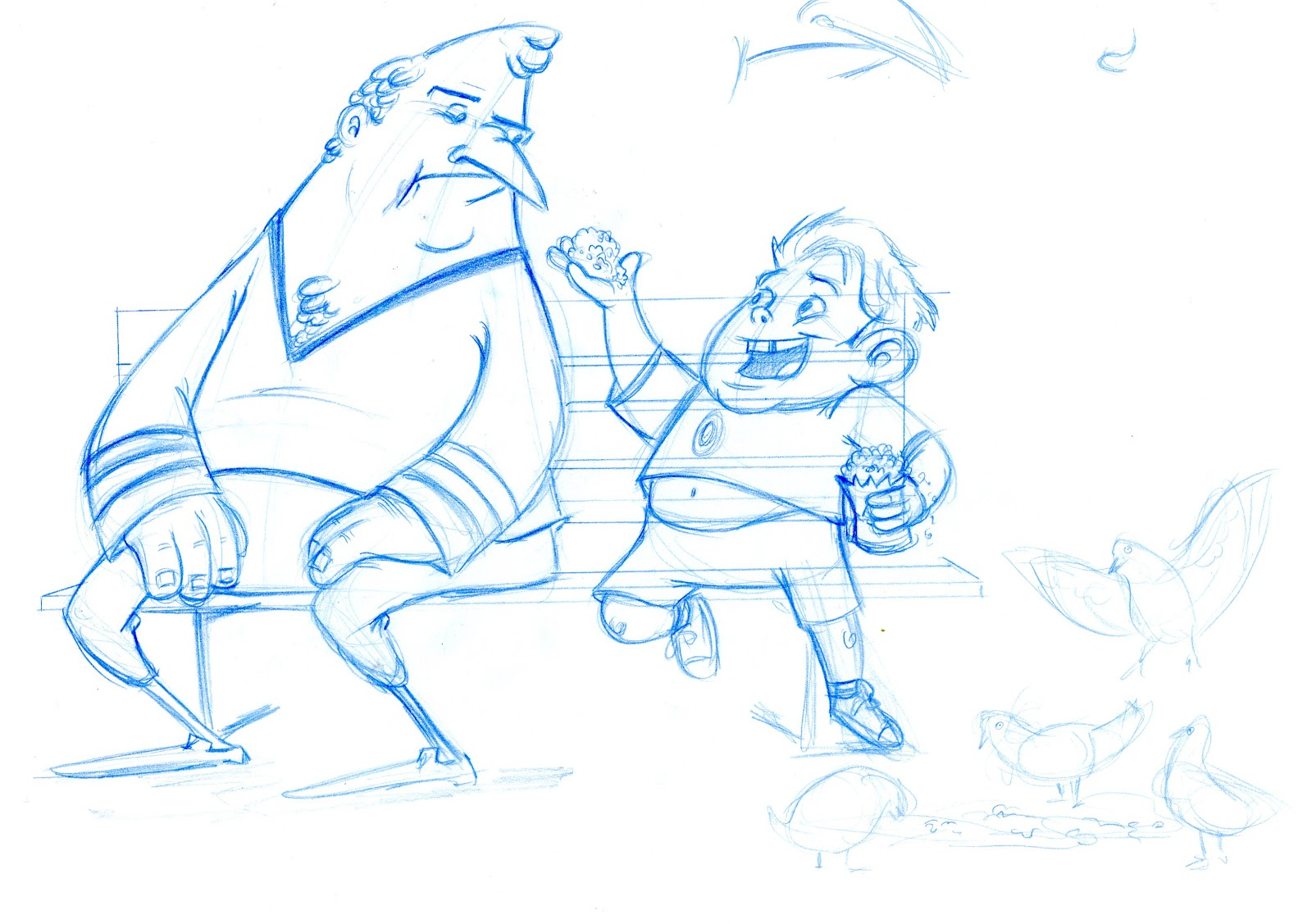 Character Design For Animation Class With Nate Wragg : Joe apel nate wragg character design class week
