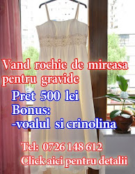 Vand Rochie Mireasa Pentru Gravide