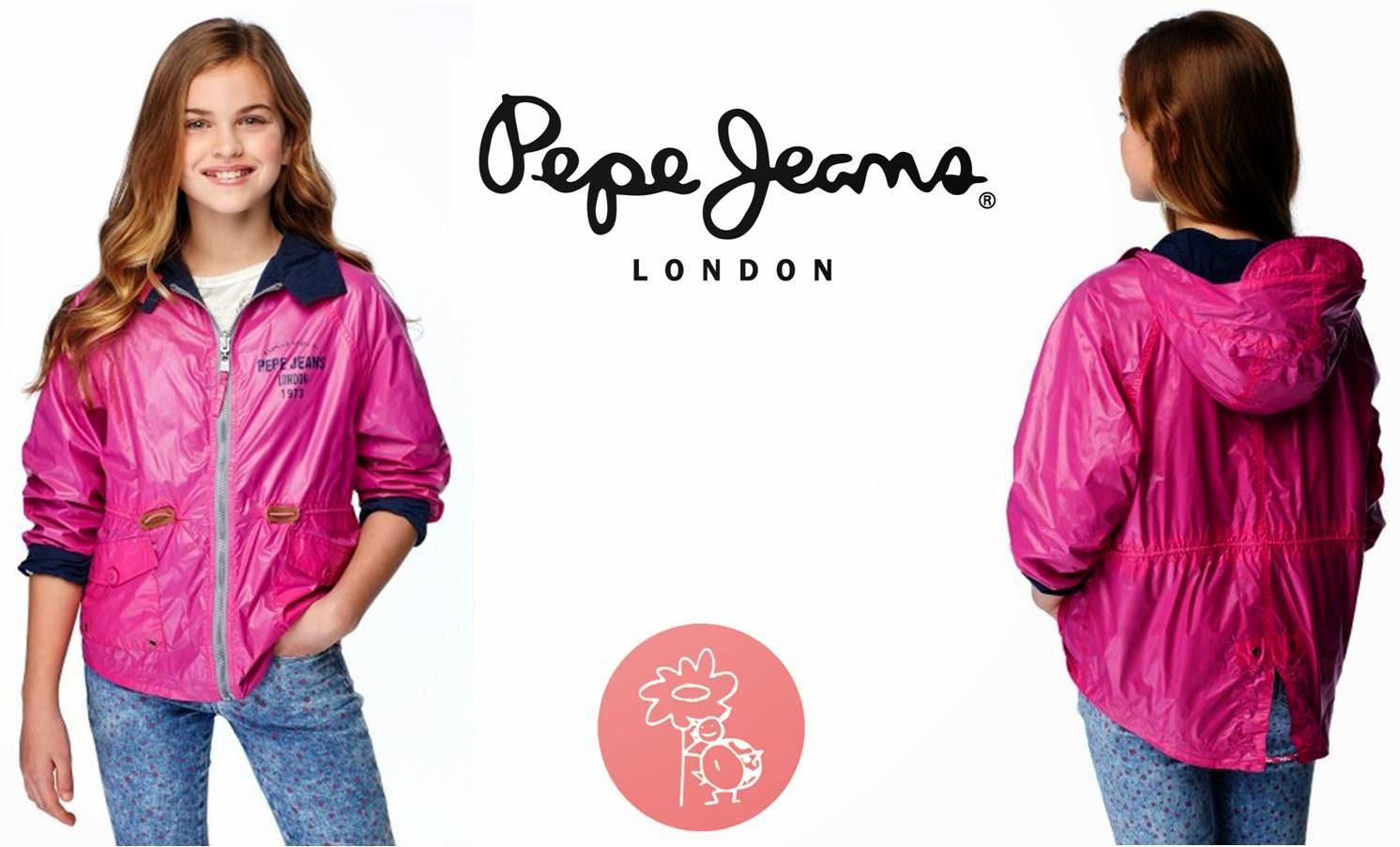 Pepe Jeans niña Anorak  Blog y Tienda Retamal moda infantil