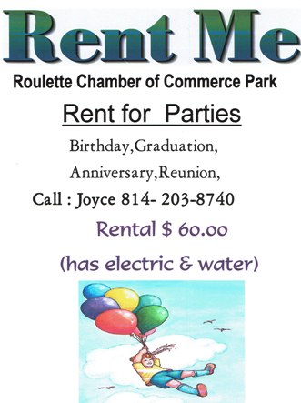 Rent For Parties Etc. Roulette Park