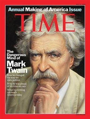 Mark Twain Time Cover