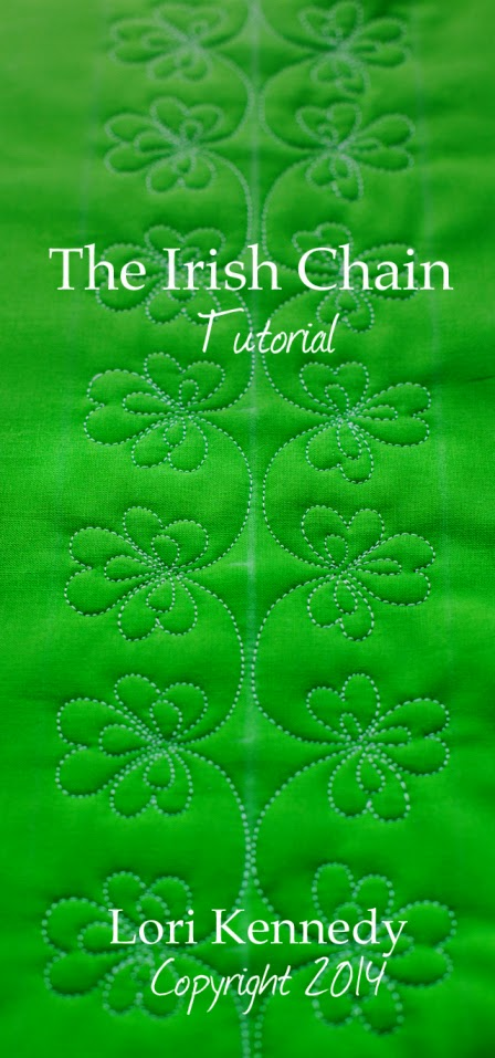 http://theinboxjaunt.com/2014/03/04/the-irish-chain-a-lucky-free-motion-quilt-tutorial/
