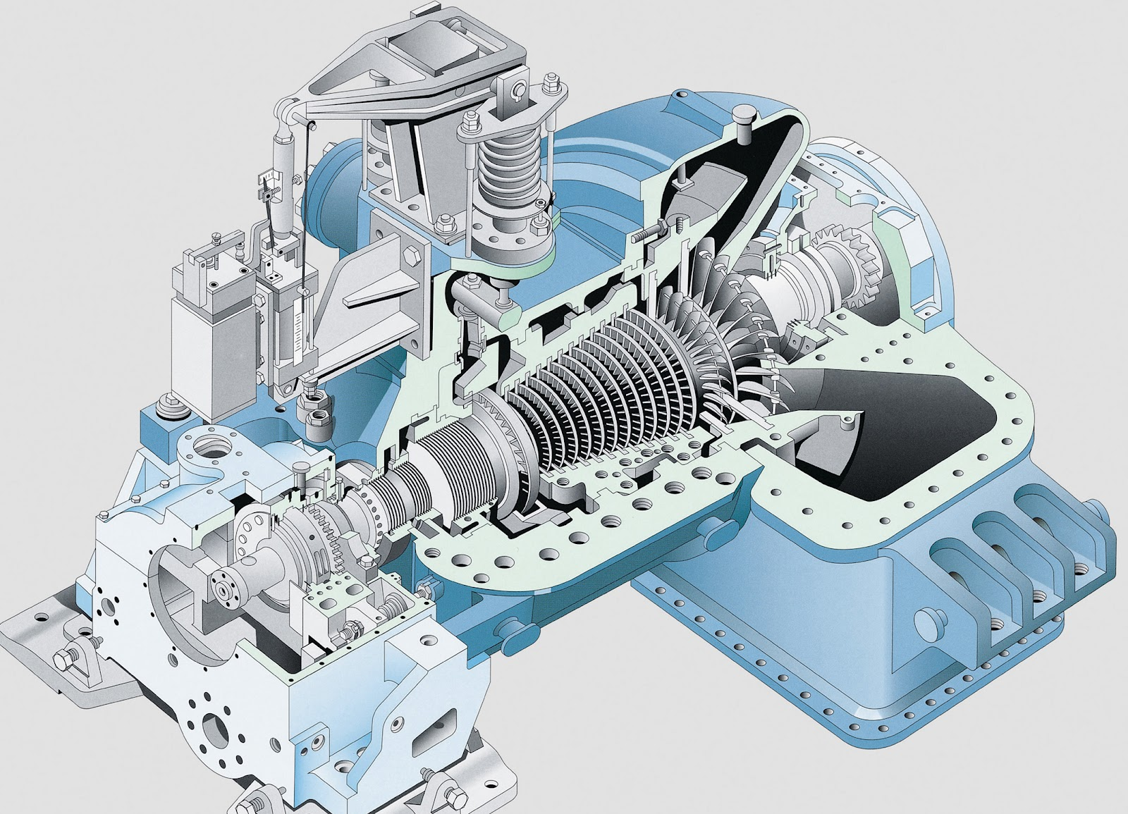 the steam turbine Industrial steam turbine condensing steam turbine back pressure steam turbine extracting condensing steam turbine introduction steam turbine extraction back pressure steam turbine low-paremeter steam turbine governing system about introduction after-sale service back pressure steam turbine manufacture & test images.