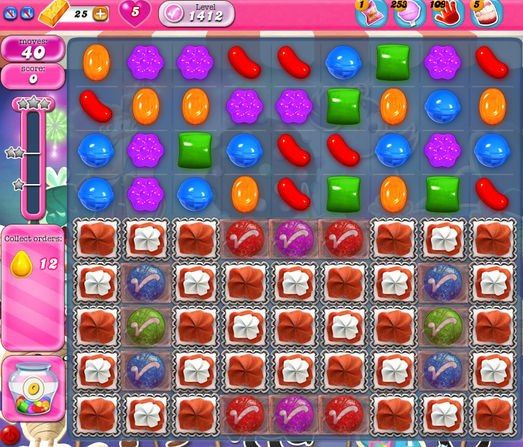 Candy Crush Saga 1412
