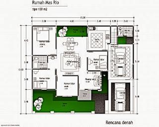 50+ contoh gambar denah rumah minimalis - rumah minimalis