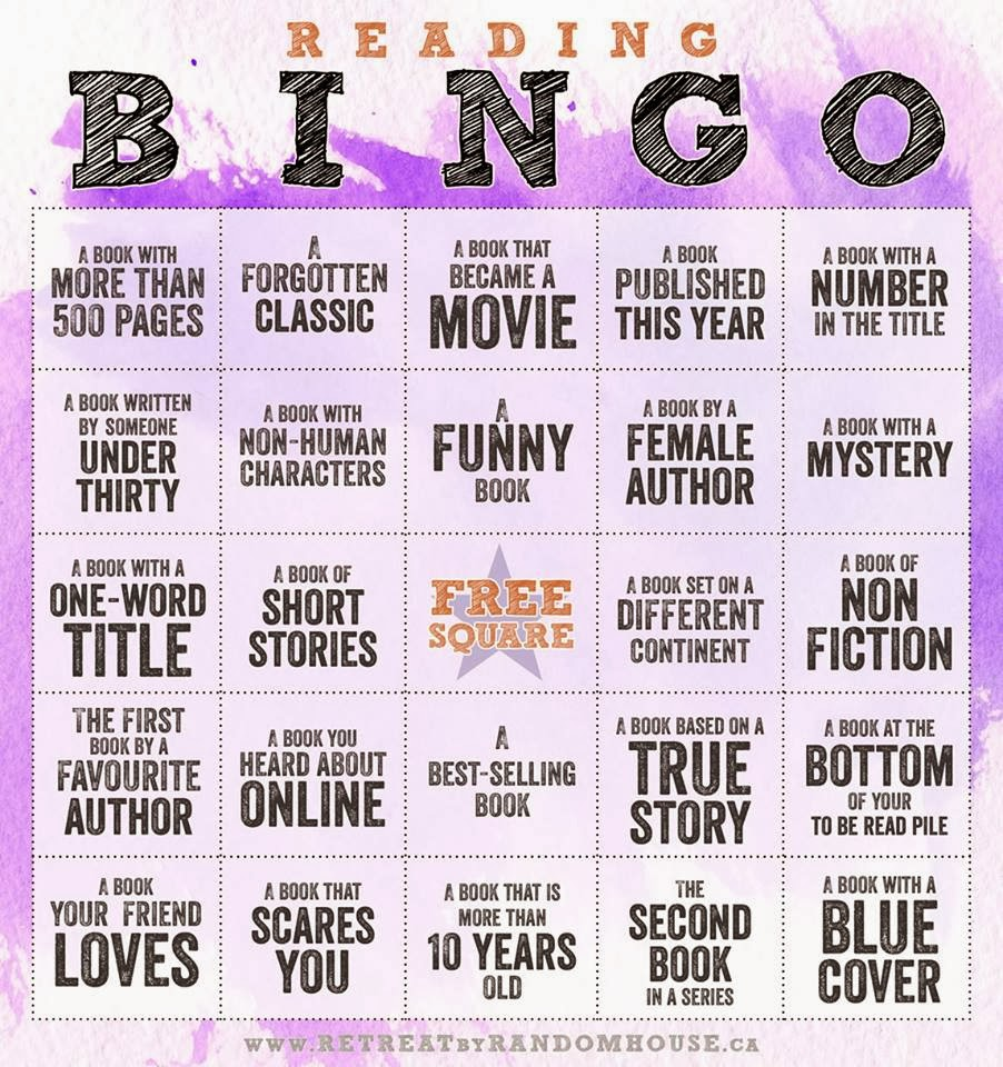 http://www.retreatbyrandomhouse.ca/2014/01/reading-bingo-challenge-2014/