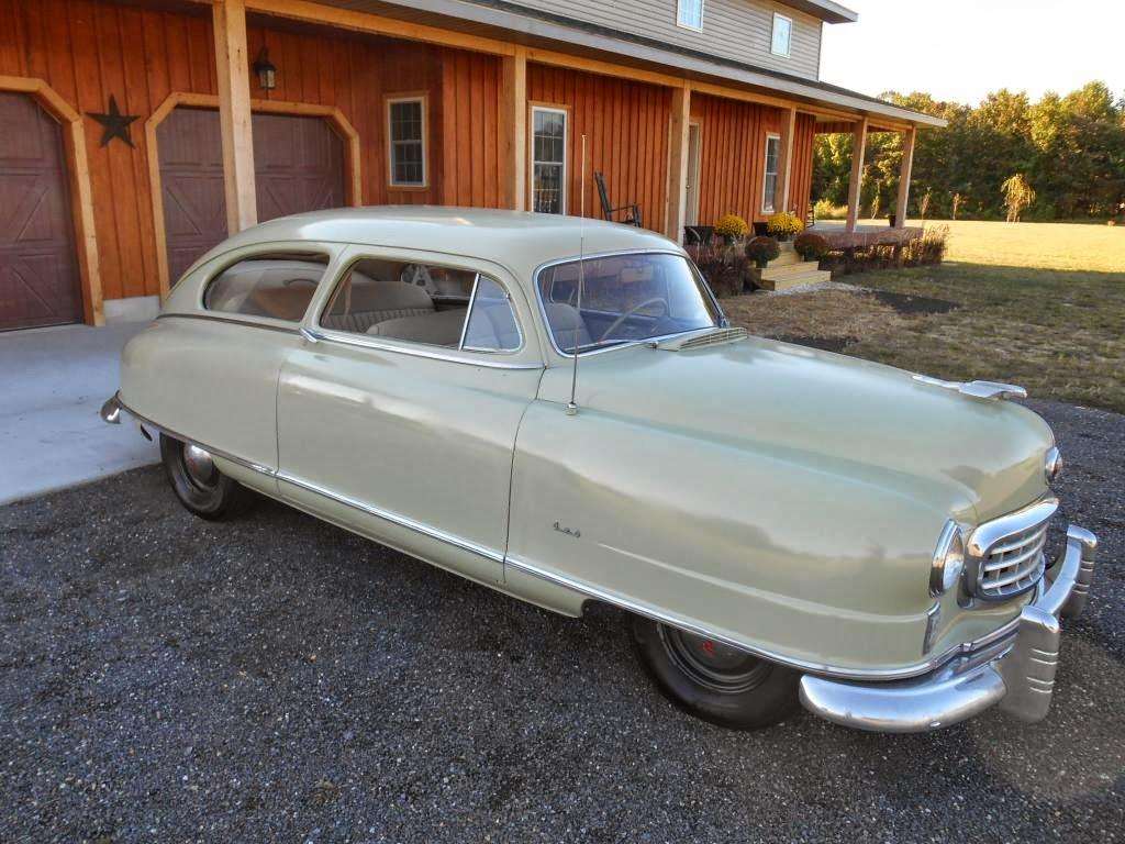 Daily Turismo: 5k: Bed, Bathtub & Beyond Body-On-Frame: 1949 Nash ...