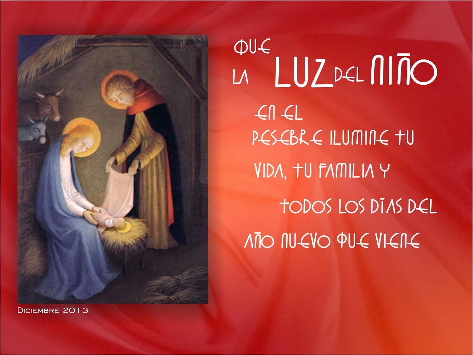 Tarjetas y oraciones catolicas tarjetas navide as - Tarjetas navidenas cristianas ...