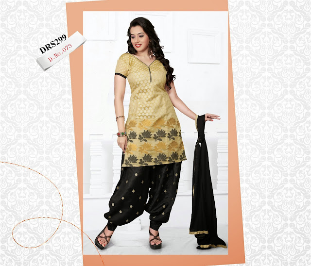 Purchase Banarasi Jacquard Dress Material – Supplier