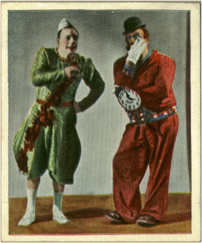 Duo clowns Antonet et Beby