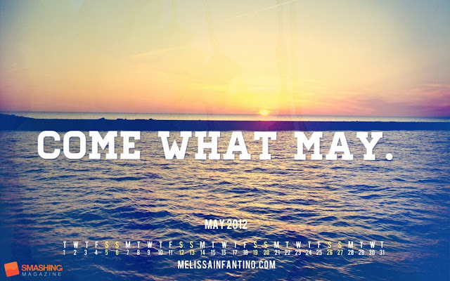 Come What May Desktop Calendar