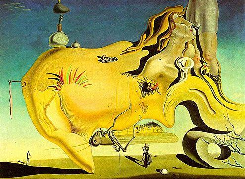 El gran masturbador de Dalí