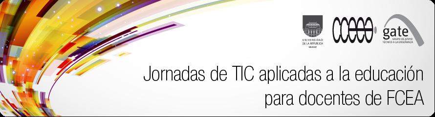 Jornadas TIC para docentes FCEA