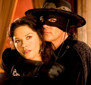 Catherine Zeta Jones con el zorro