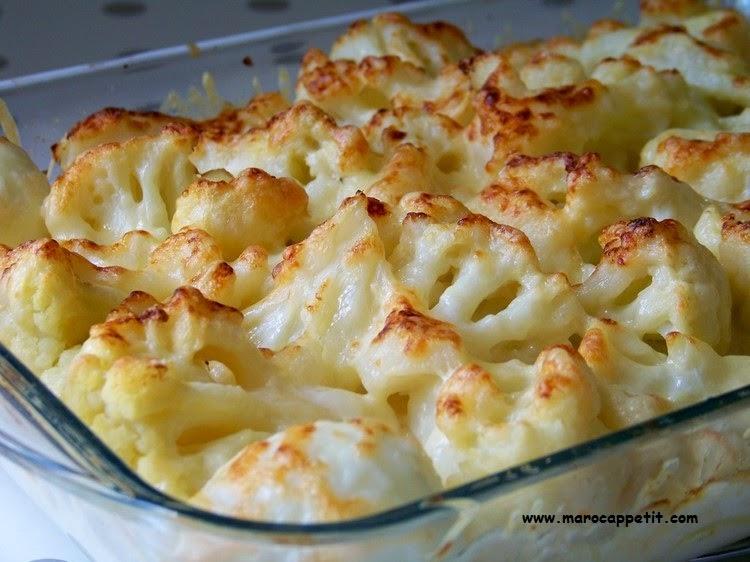 Gratin de chou fleur et pommes de terre | Potatoes and flower cabbage gratin