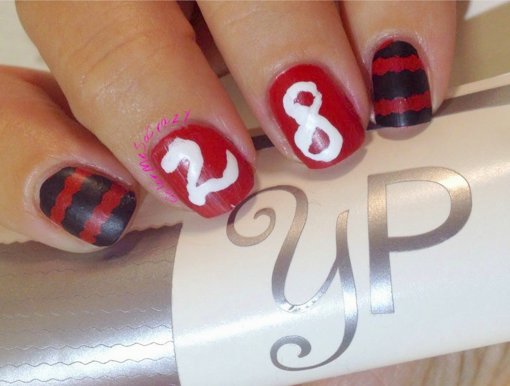 North Hills Nail Art with YouPolish decals, Orly and JustRica