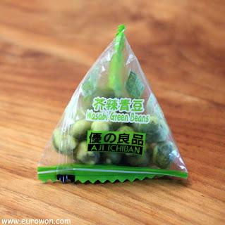 Bolsa de golosinas de wasabi