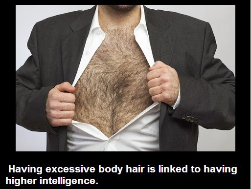 Things you didn't know!: Did you know that having excessive body hair is linked to having higher ....
