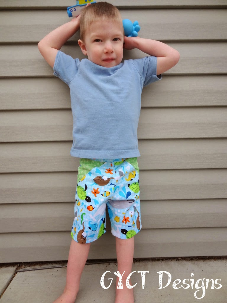 Color Blocking for Boys by GYCT Designs