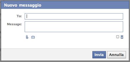Come inviare email da facebook