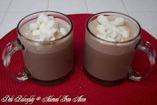 Winter Party Cocoa ( for a crowd )