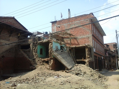 nepal earthquake 2072 photo