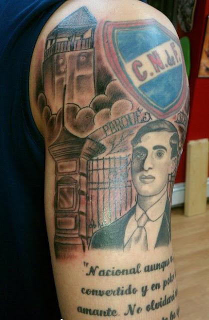 Tatuaje Club Nacional de Fútbol