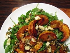 Roast Squash and Apple Salad