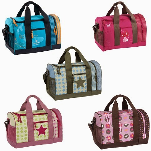 4 Kids Mini Duffle Bag availabel colors