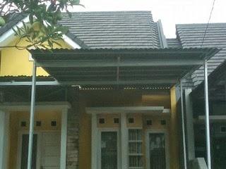 Canopy rumah termurah dari baja ringan