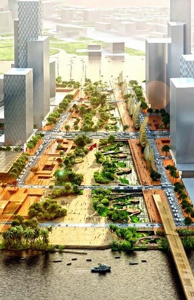 Ngắm nhìn khu trung tâm mới của Thành phố Hồ Chí Minh trong tương lai